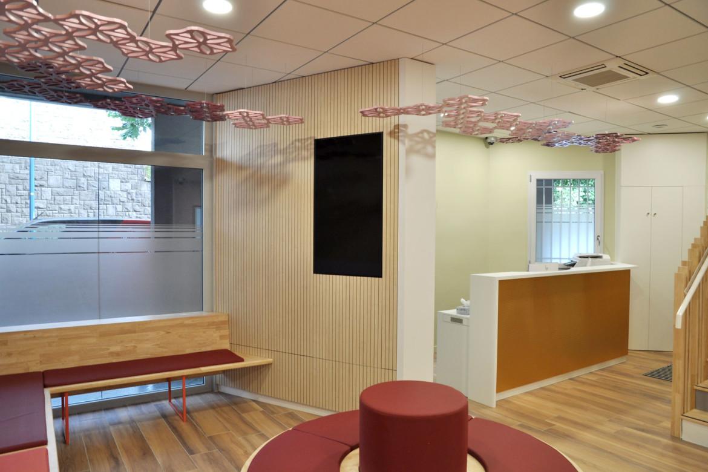 Laetitia Rodrigues architecture intérieure pour les professionnels de santé Clermont Ferrand (63) pôle pédiatrique libéral